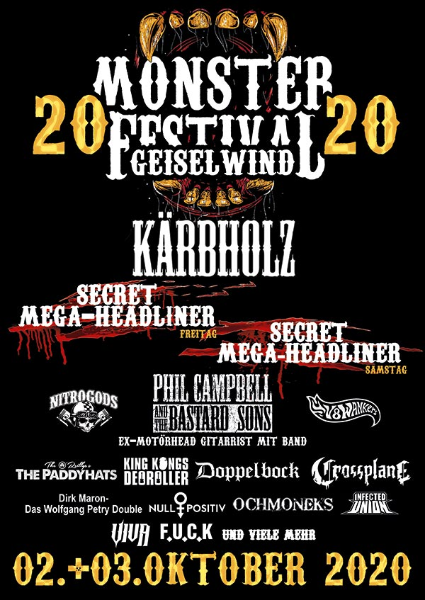 2019 10 10 Monster20 Plakat A1 alle Bands web