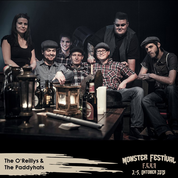 The O'Reillys & The Paddyhats_Monster Festival_Eventzentrum Strohofer Geiselwind