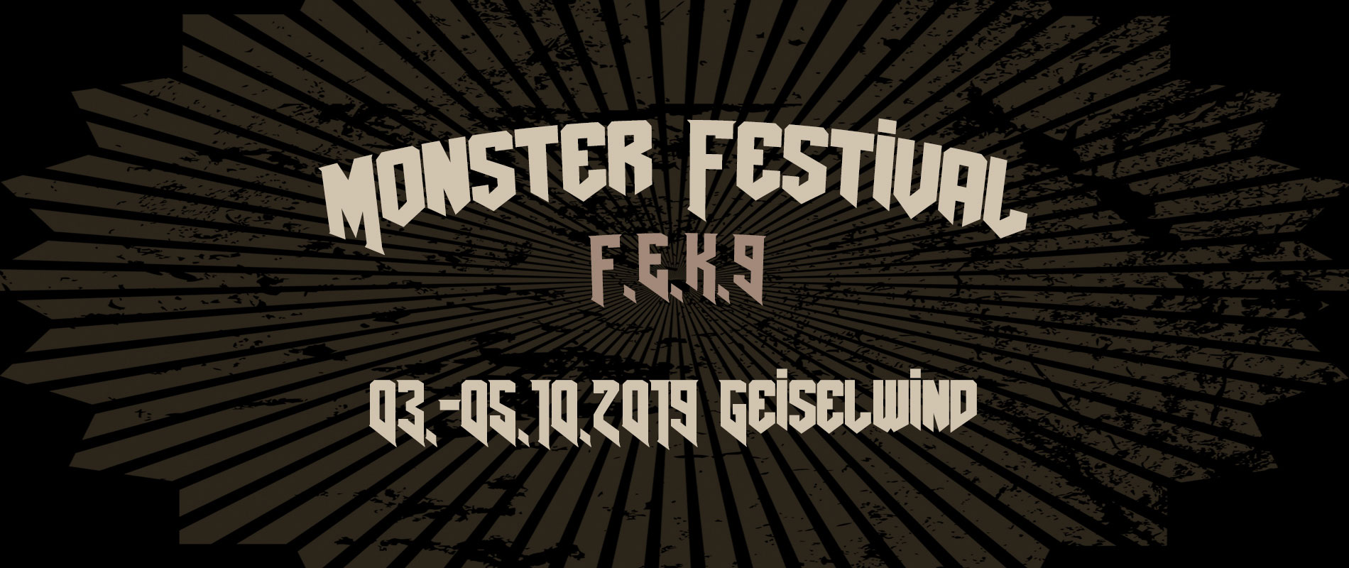FEK9 Deutschrock Monsterfestival - Eventzentrum Geiselwind