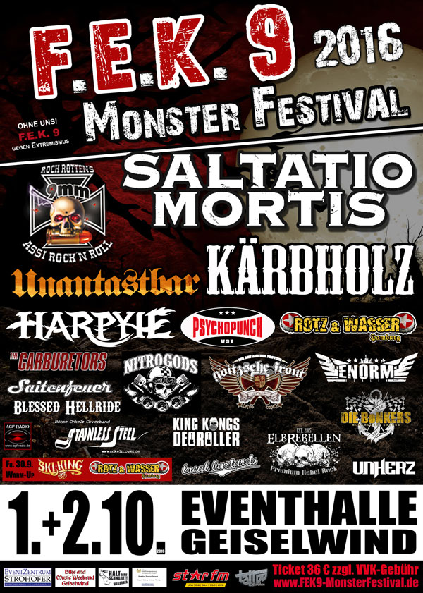 2016 Monster Festival FEK 9