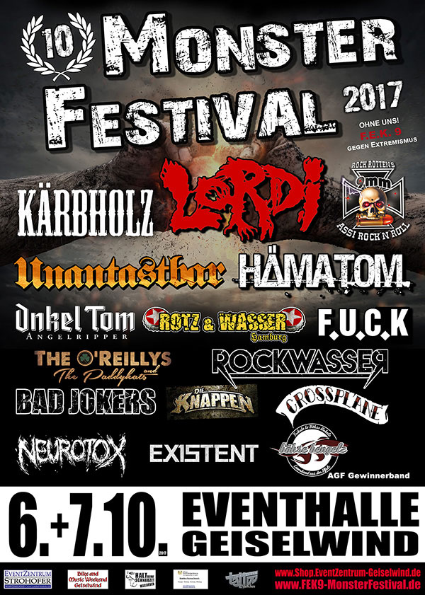 2017 Monster Festival FEK 9